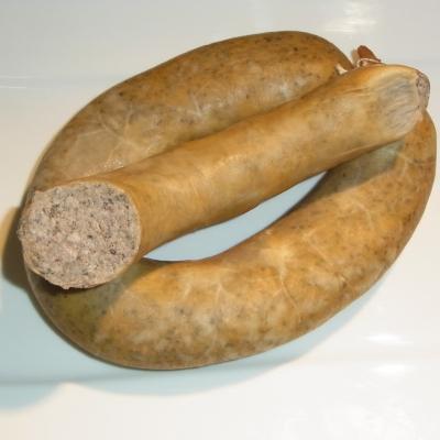 Hausmacherleberwurst mit Majoran